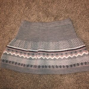 Joe fresh 2T sweater material skirt